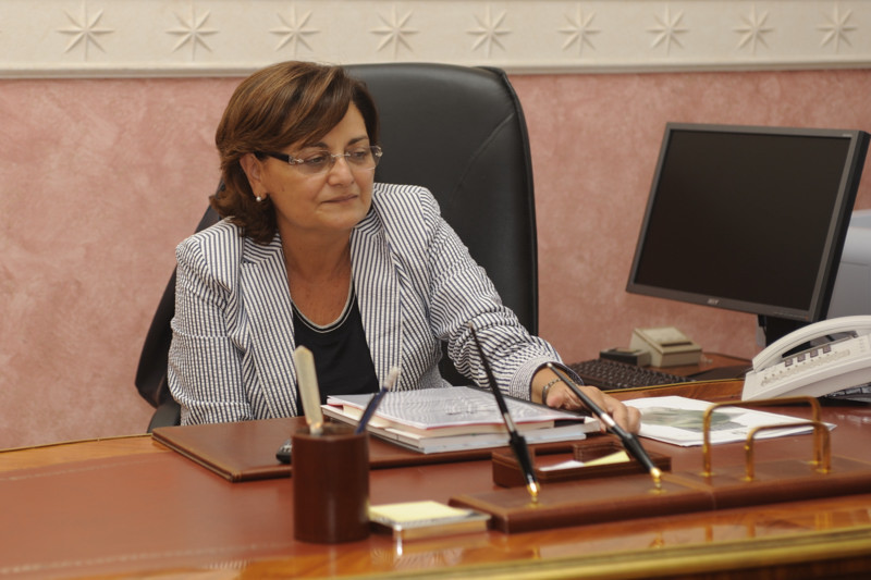 Luisa Latella was appointed as the Extraordinary Commissioner for Naples 2019 last week ©Government of Catanzaro