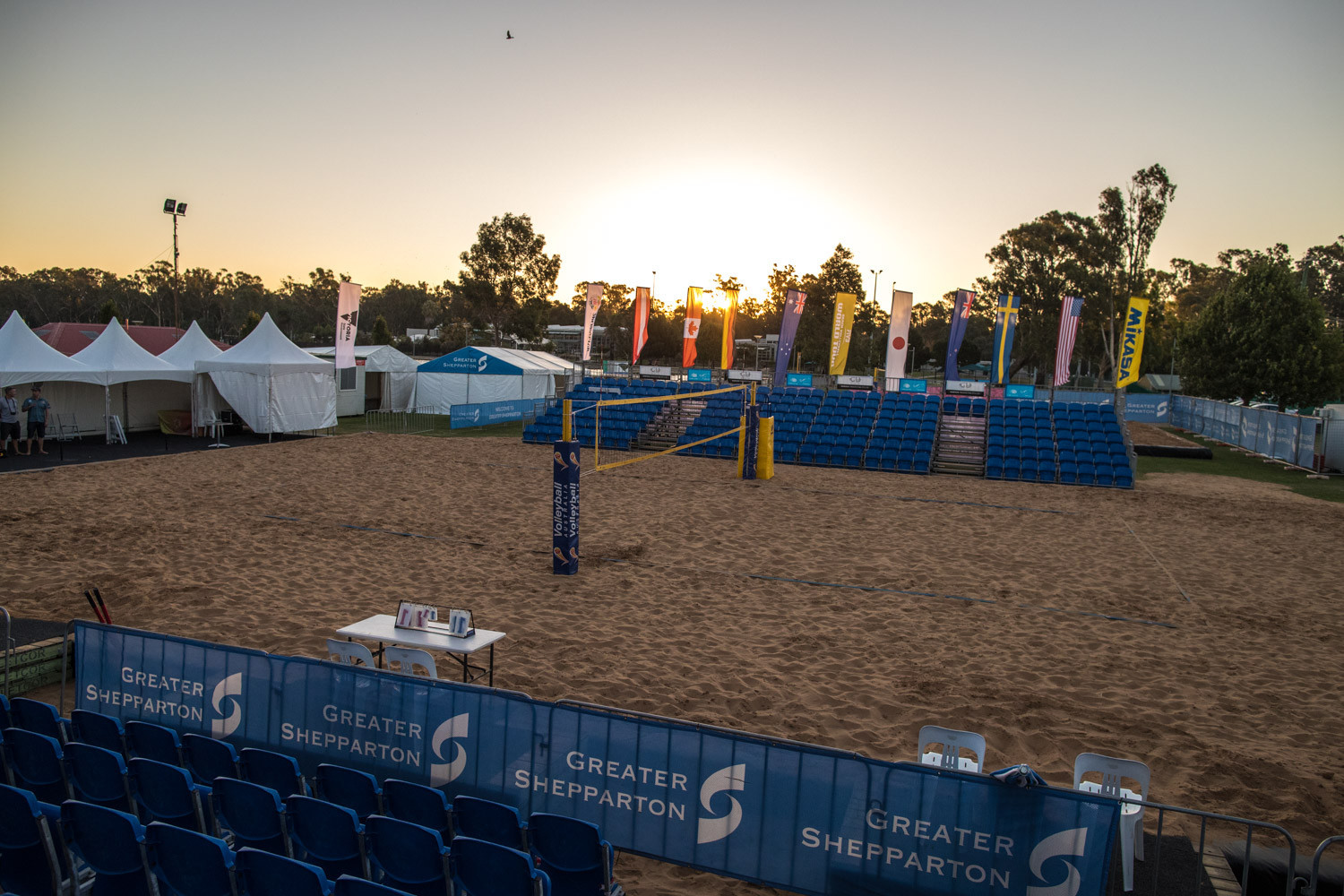 The competition in Shepparton will be a testing ground for the new block touch rule ©FIVB