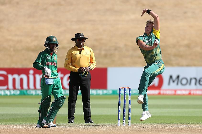 South Africa secure comfortable victory over Bangladesh to finish fifth at ICC Under-19 World Cup