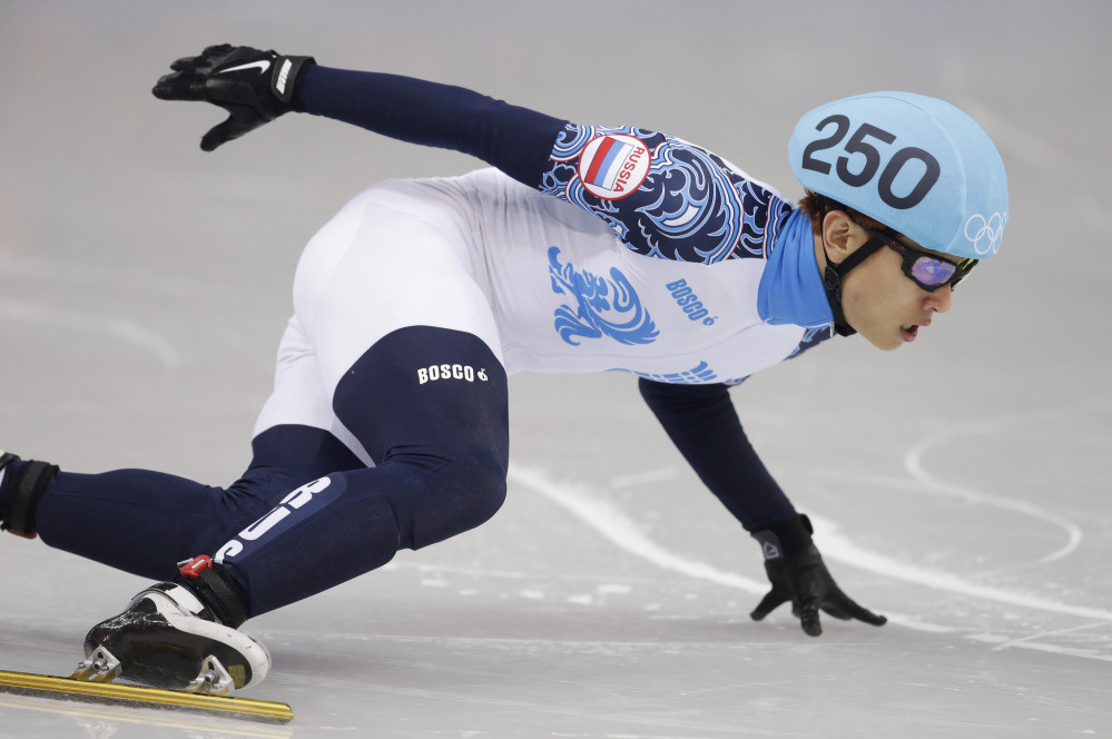 Russia's triple Olympic short track speed skater gold medallist Victor Ahn has been banned from Pyeongchang 2018 without ever having failed a drugs test ©Getty Images