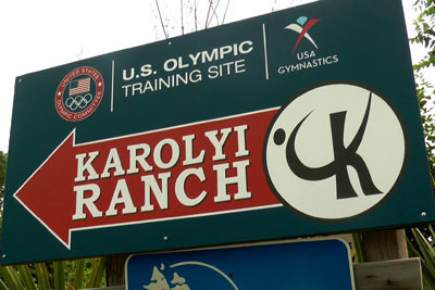 Texas Rangers are investigating the training base of USA Gymnastics ©USA Gymnastics