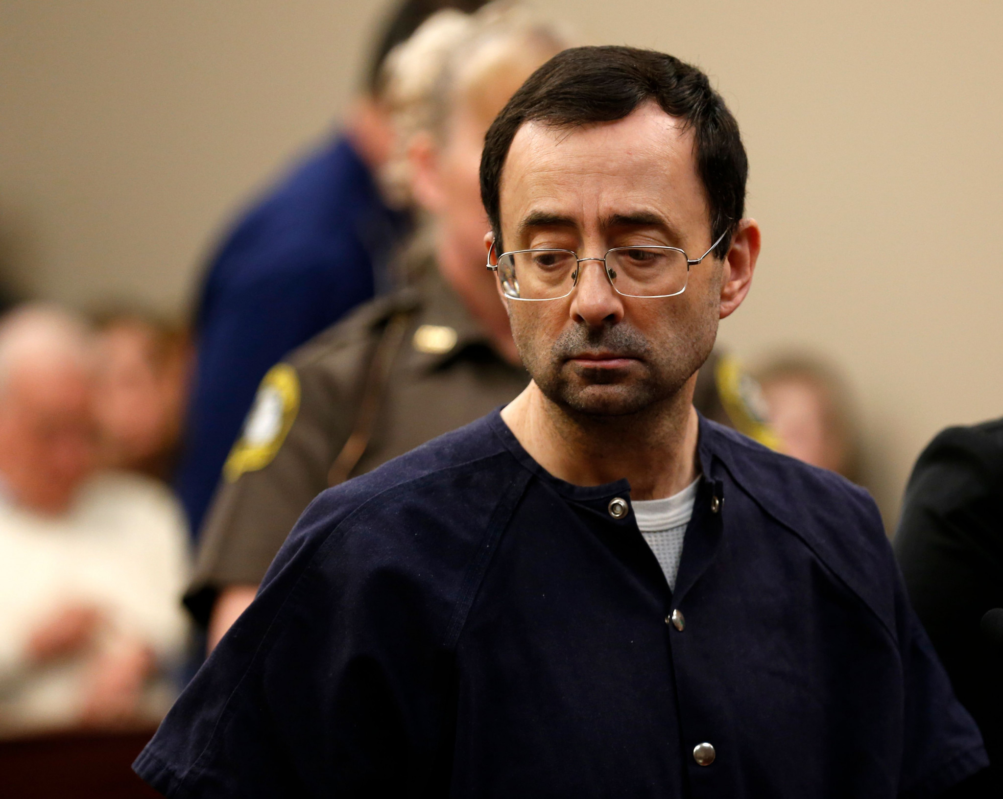 Larry Nassar has already been served a 175-year sentence for sexual abuse offences ©Getty Images