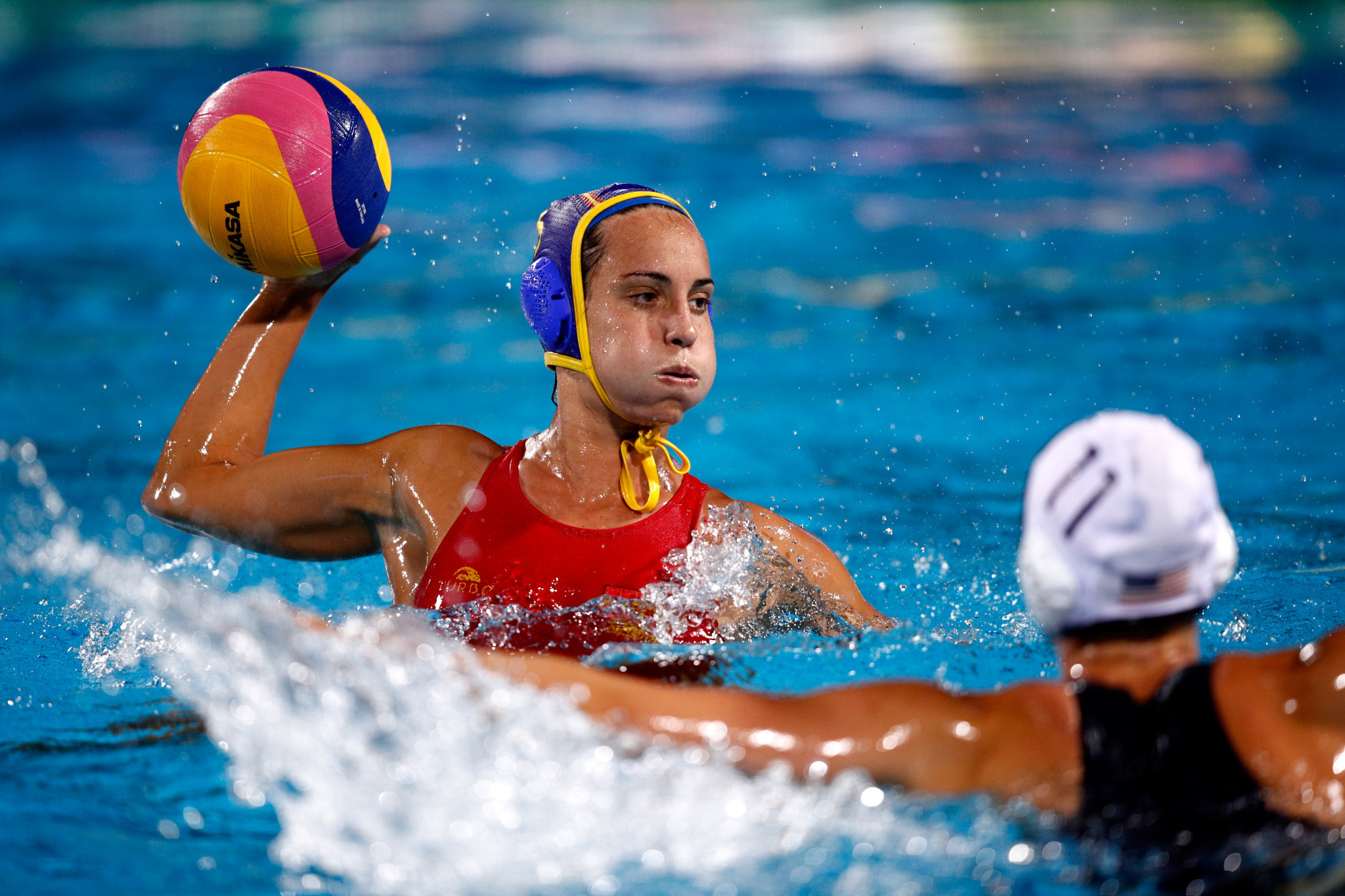 Spain beat The Netherlands in their latest Women's Water Polo World League match ©Getty Images