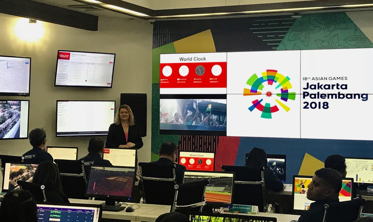 Main Operation Centre for 2018 Asian Games opened