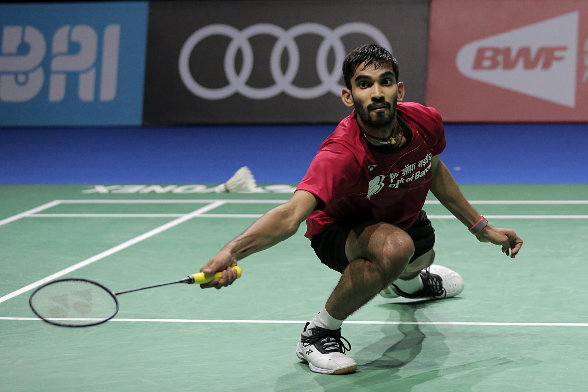 Home player Srikanth Kidambi will be hoping to win the India Open for a second time after victory in 2015 ©Getty Images