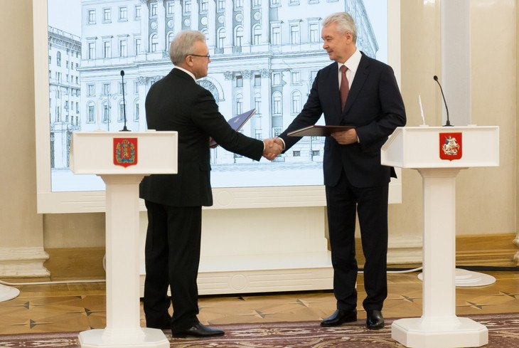 Krasnoyarsk and Moscow sign cooperation agreement to help 2019 Winter Universiade preparations
