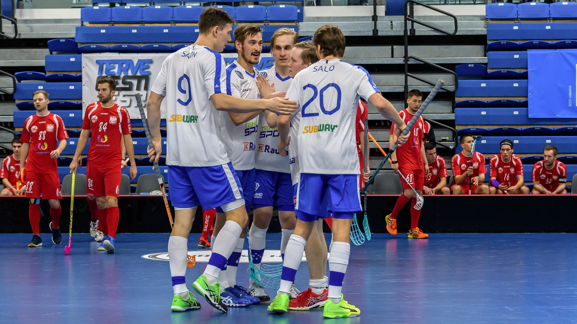 Finland crush Poland as reigning champions begin bid to qualify for Men's World Floorball Championships