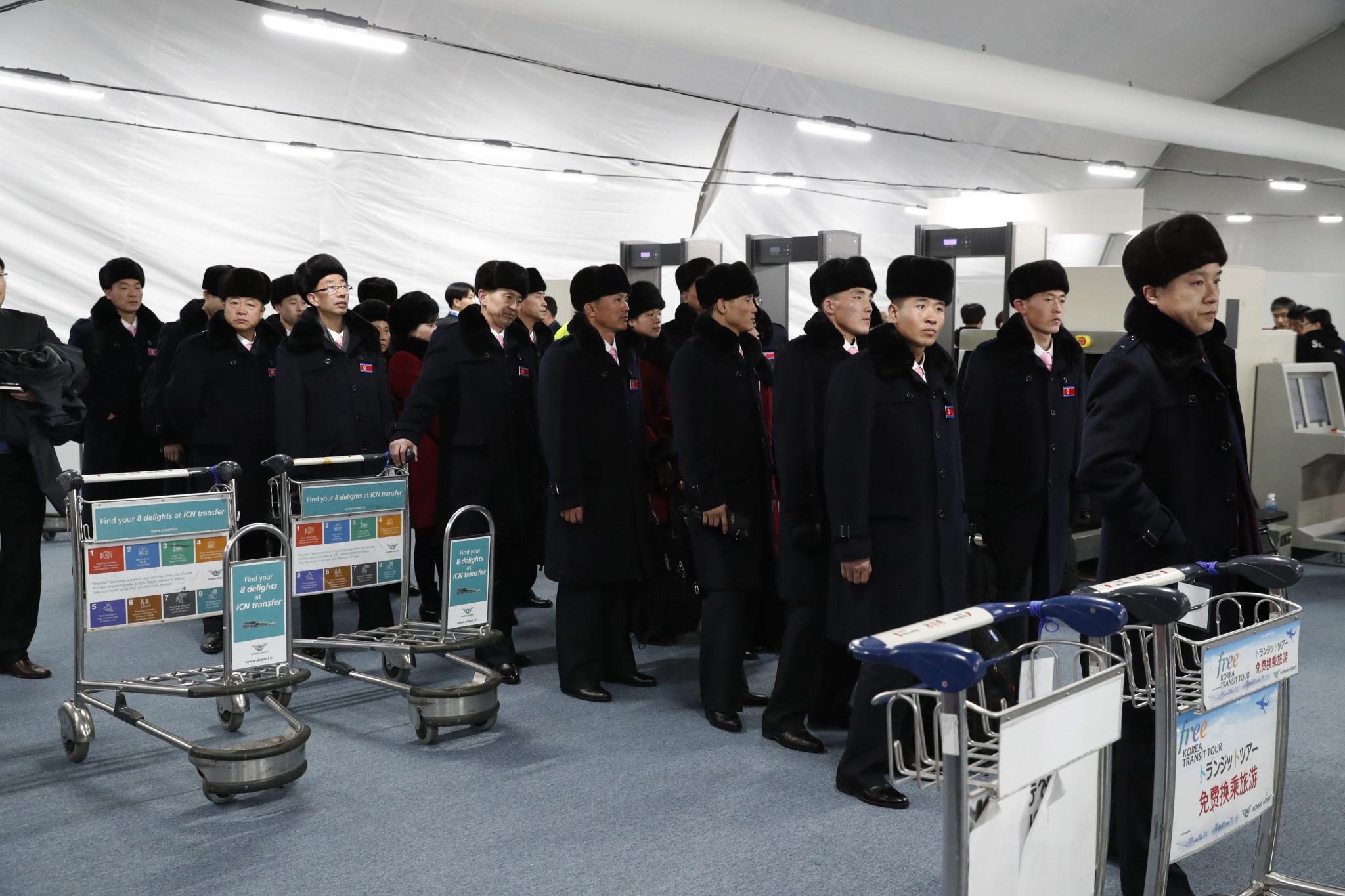 North Korean delegation arrives for historic Pyeongchang 2018 appearance