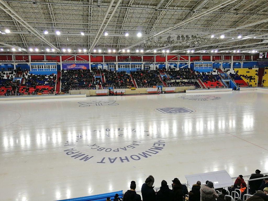 The tournament is taking place at the Arena Yerofey in Khabarovsk ©ksuyshakrivosh1/Twitter