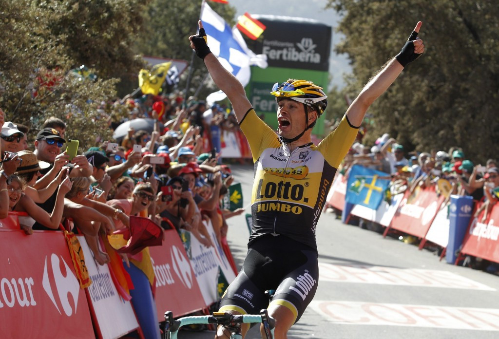 Dutch rider sprints to victory as Froome toils at Vuelta a España