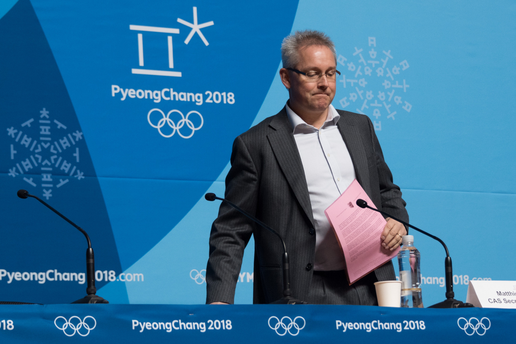 CAS verdict announced and North Korea arrive as preparations continue for Pyeongchang 2018