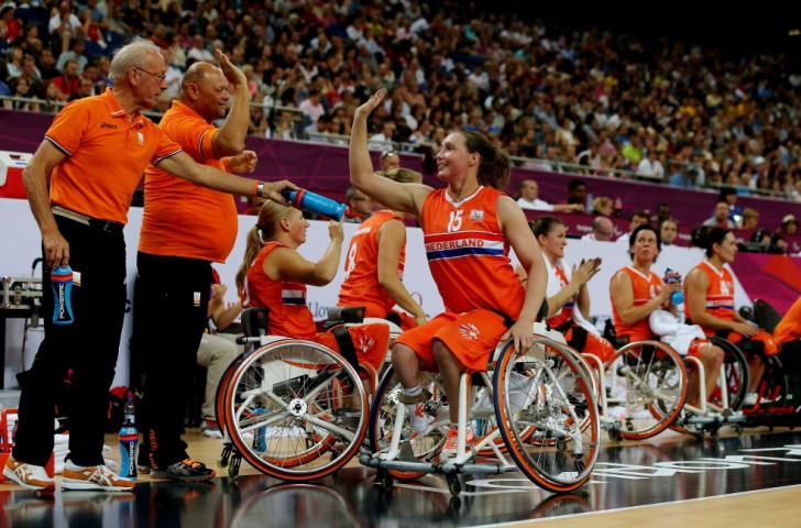 The Netherlands begin European Wheelchair Basketball Championship title defence with crushing win over Spain