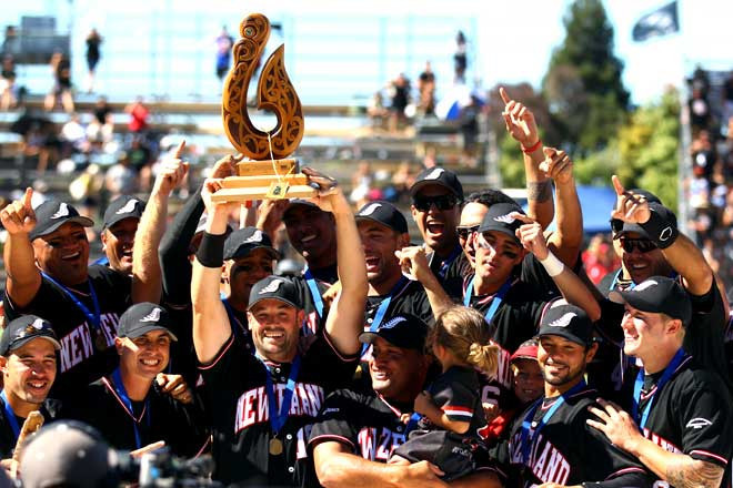 New Zealand have won the Men's Softball World Championship seven times ©The Encyclopedia of New Zealand