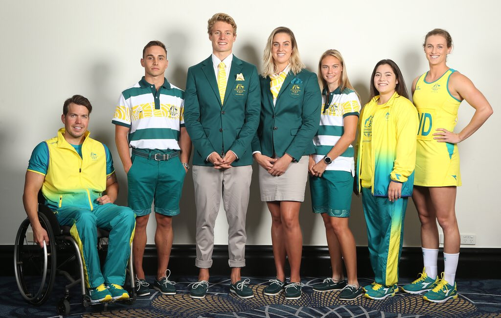 Commonwealth Games Australia reveal team kit and ceremonies attire for Gold Coast 2018