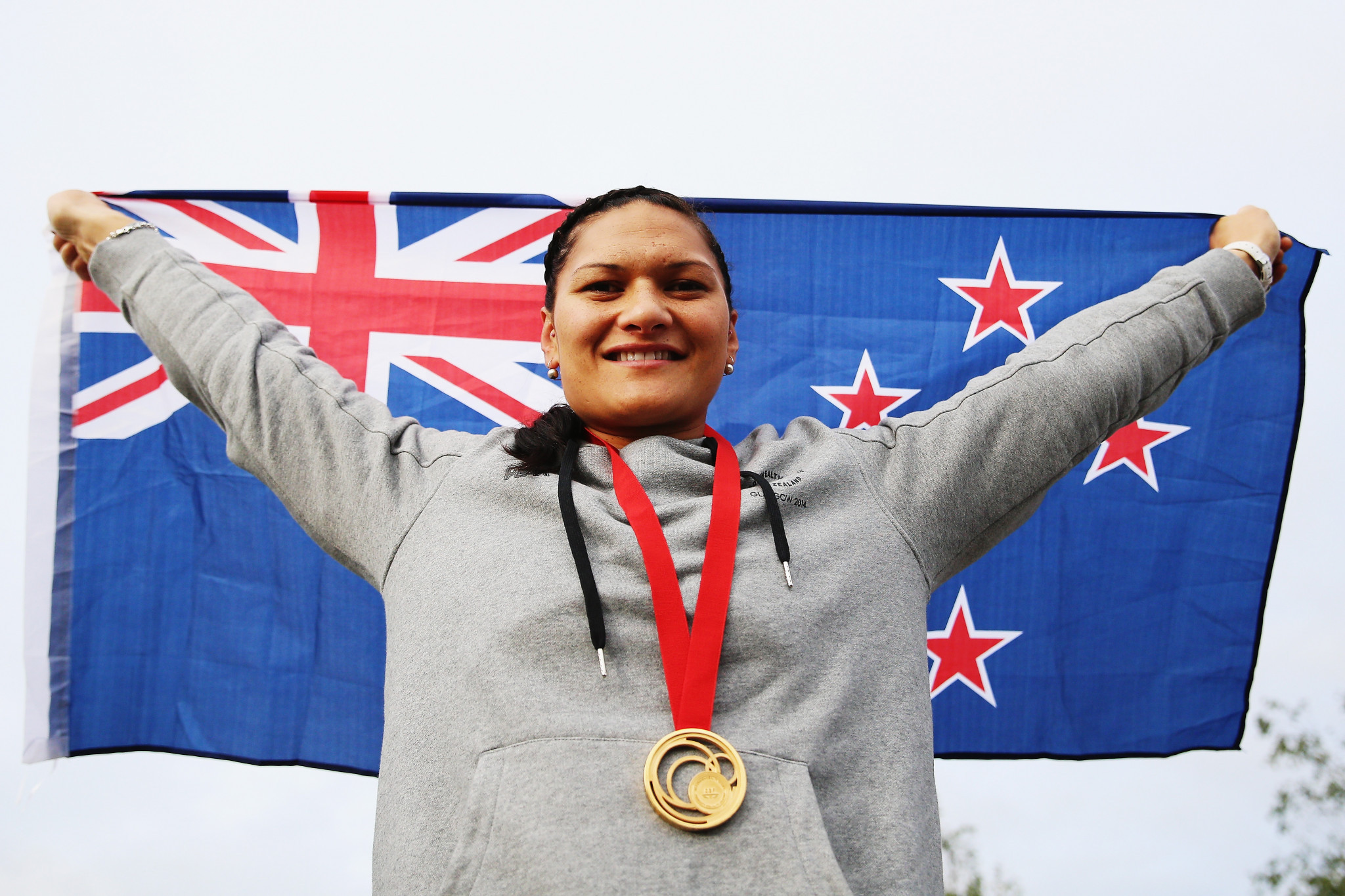 Valerie Adams has won gold at her last three Commonwealth Games ©Getty Images