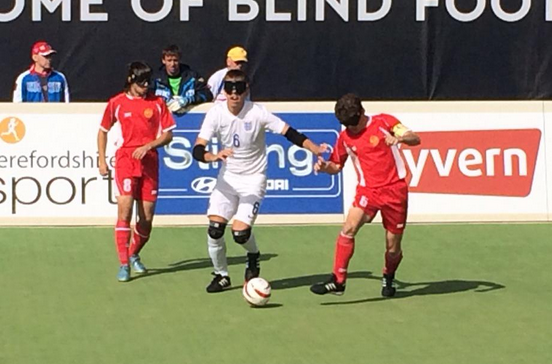 Hosts England lose penalty shootout to Russia at Blind European Championships
