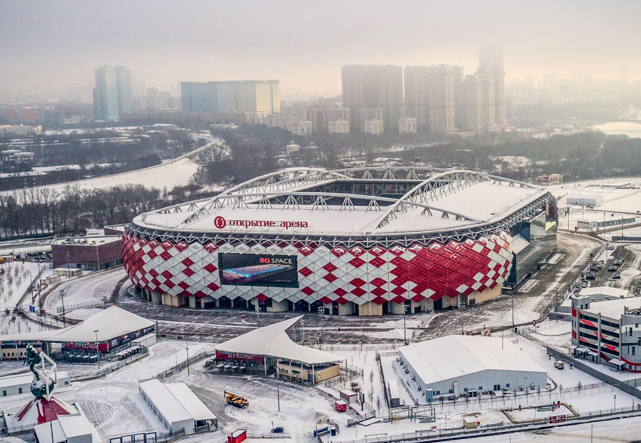 Russia is preparing for this year's World Cup, which will open on June 14 ©Getty Images