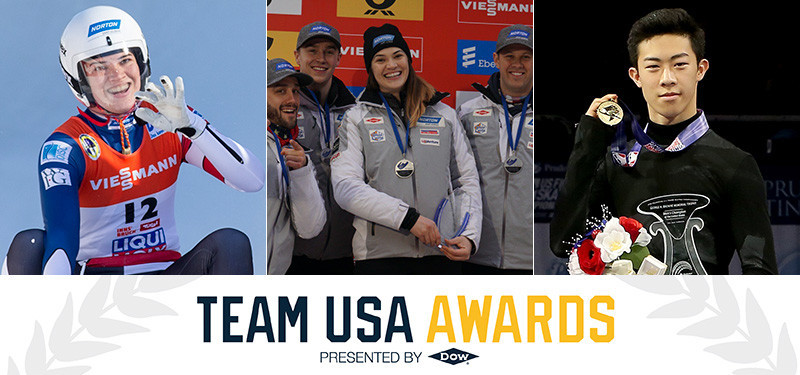 Chen, Britcher and luge team relay foursome earn USOC Best of January honours