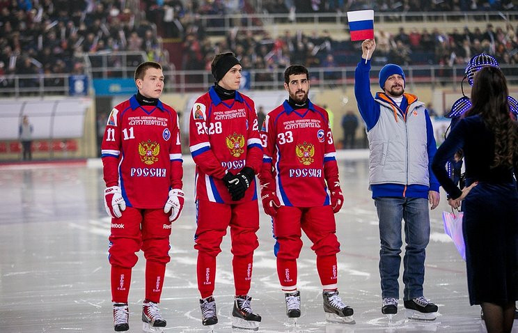 Tournament hosts Russia recorded the most convincing win of the day ©Twitter