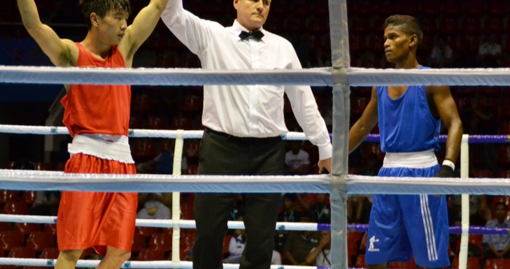 Turkmenistan enjoy double success on day three of Asian Confederation Boxing Championships