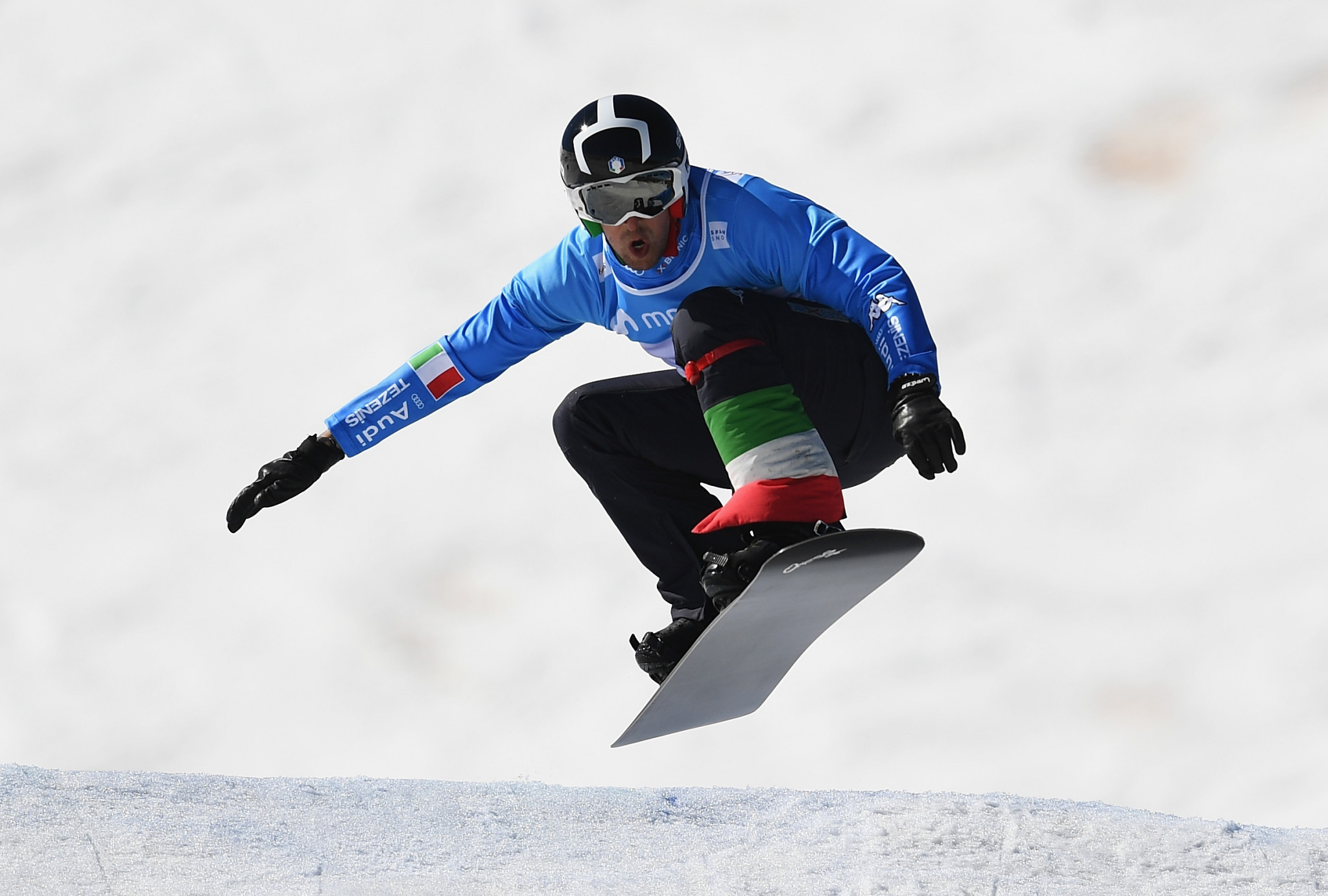 Italy lead qualifying at Snowboard Cross World Cup in Feldberg