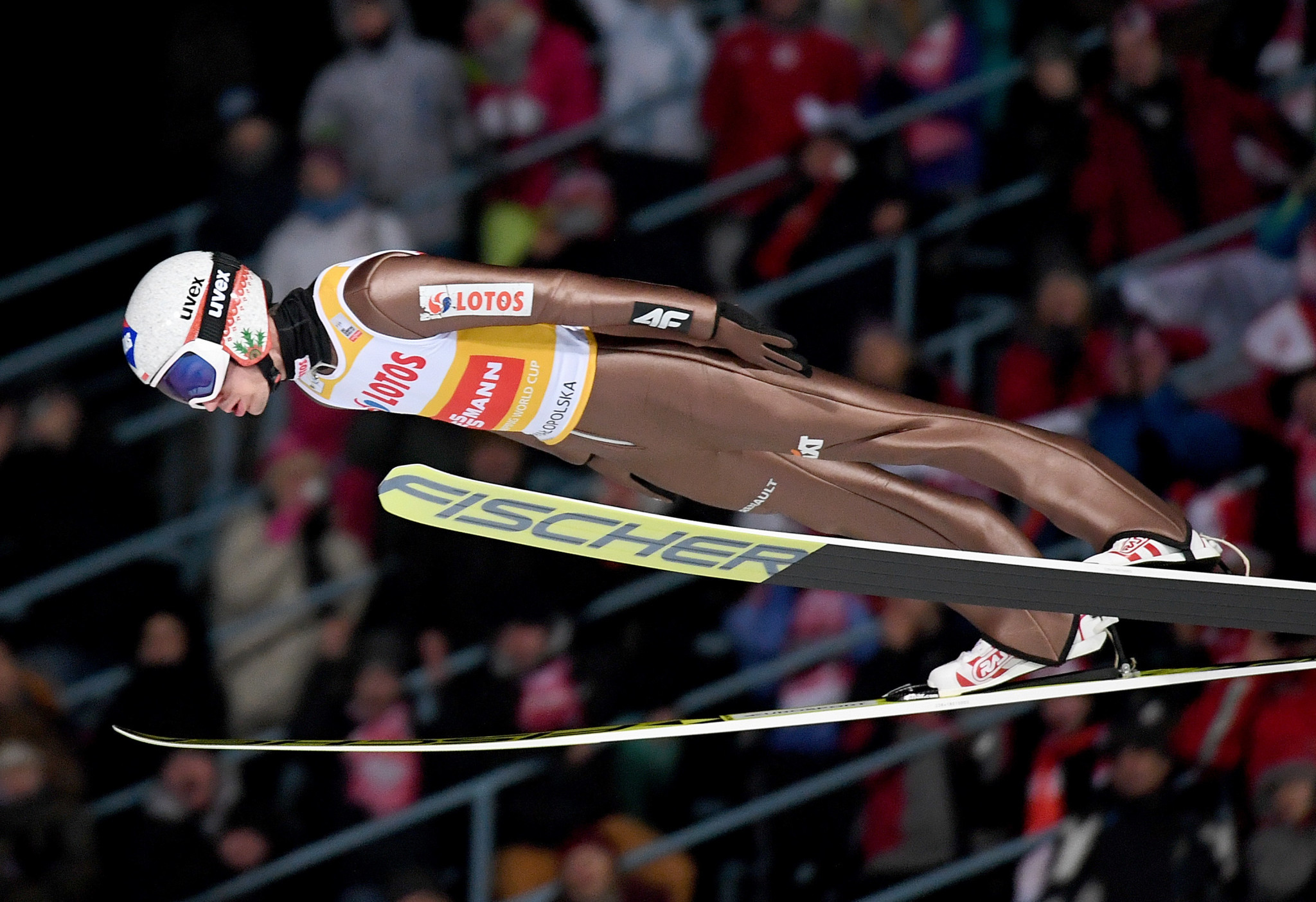 Poland's Kamil Stoch topped the qualification standings as action began today at the FIS Ski Jumping World Cup in Willingen in Germany ©Getty Images