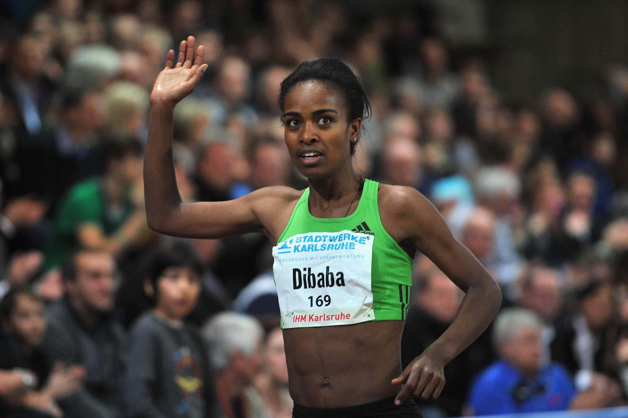 Dibaba to return to scene of record at IAAF Indoor Tour opener in Karlsruhe