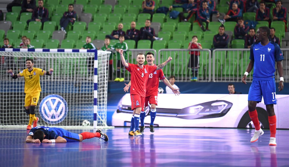Three teams book quarter-final spots at UEFA Futsal Championship