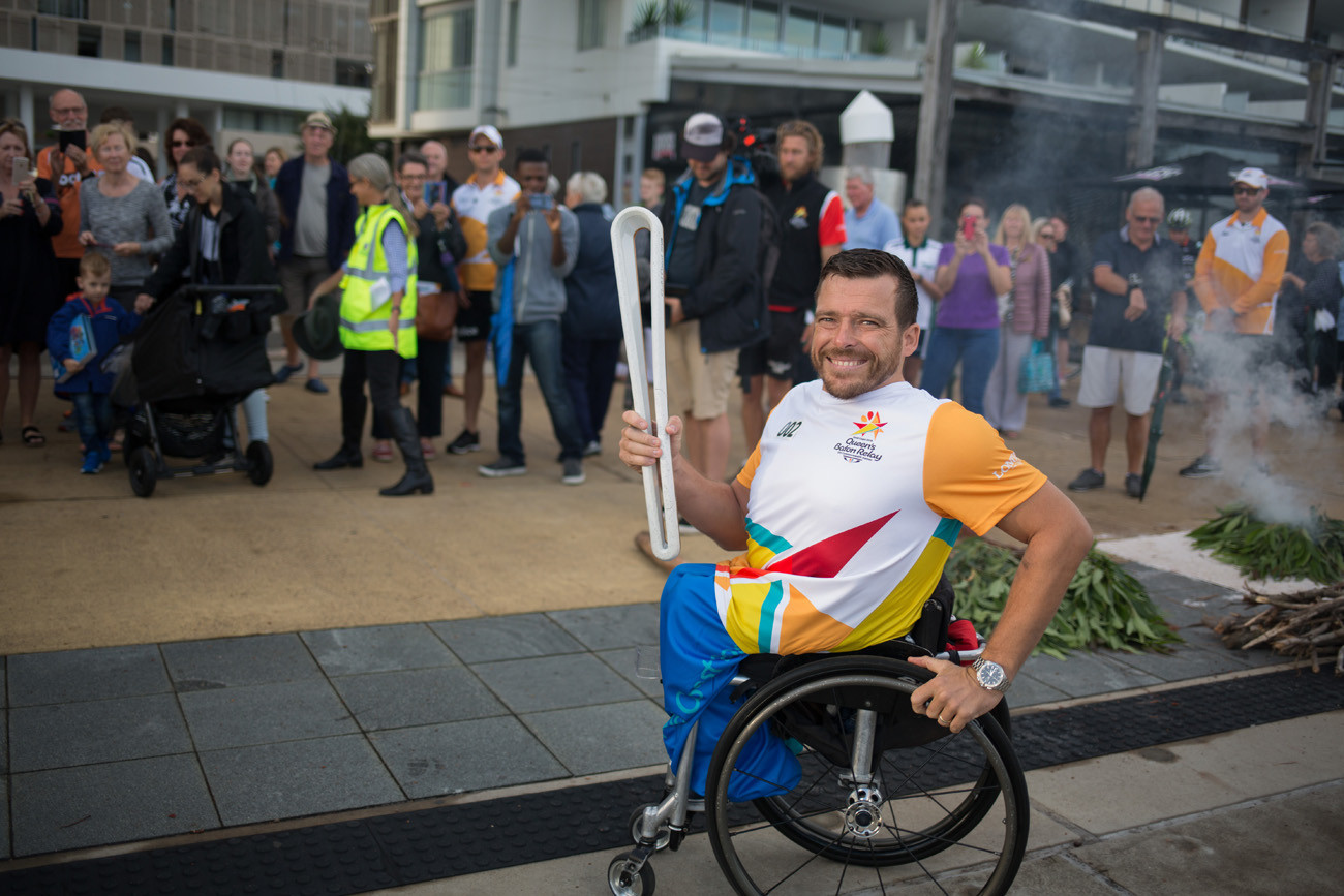 Kurt Fearnley won a silver medal at Glasgow 2014 ©Gold Coast 2018