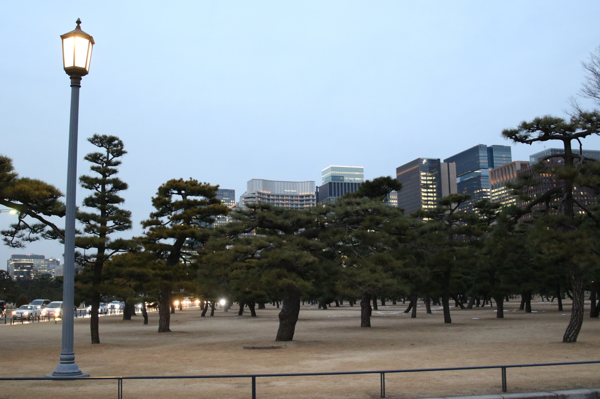 The Imperial Palace Garden will serve as the venue for race walking events ©Tokyo 2020