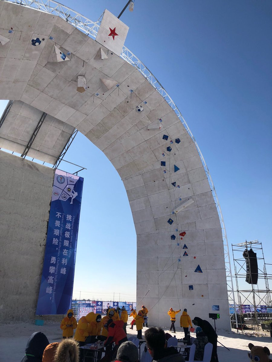 Finalists for lead events confirmed at Ice Climbing World Cup