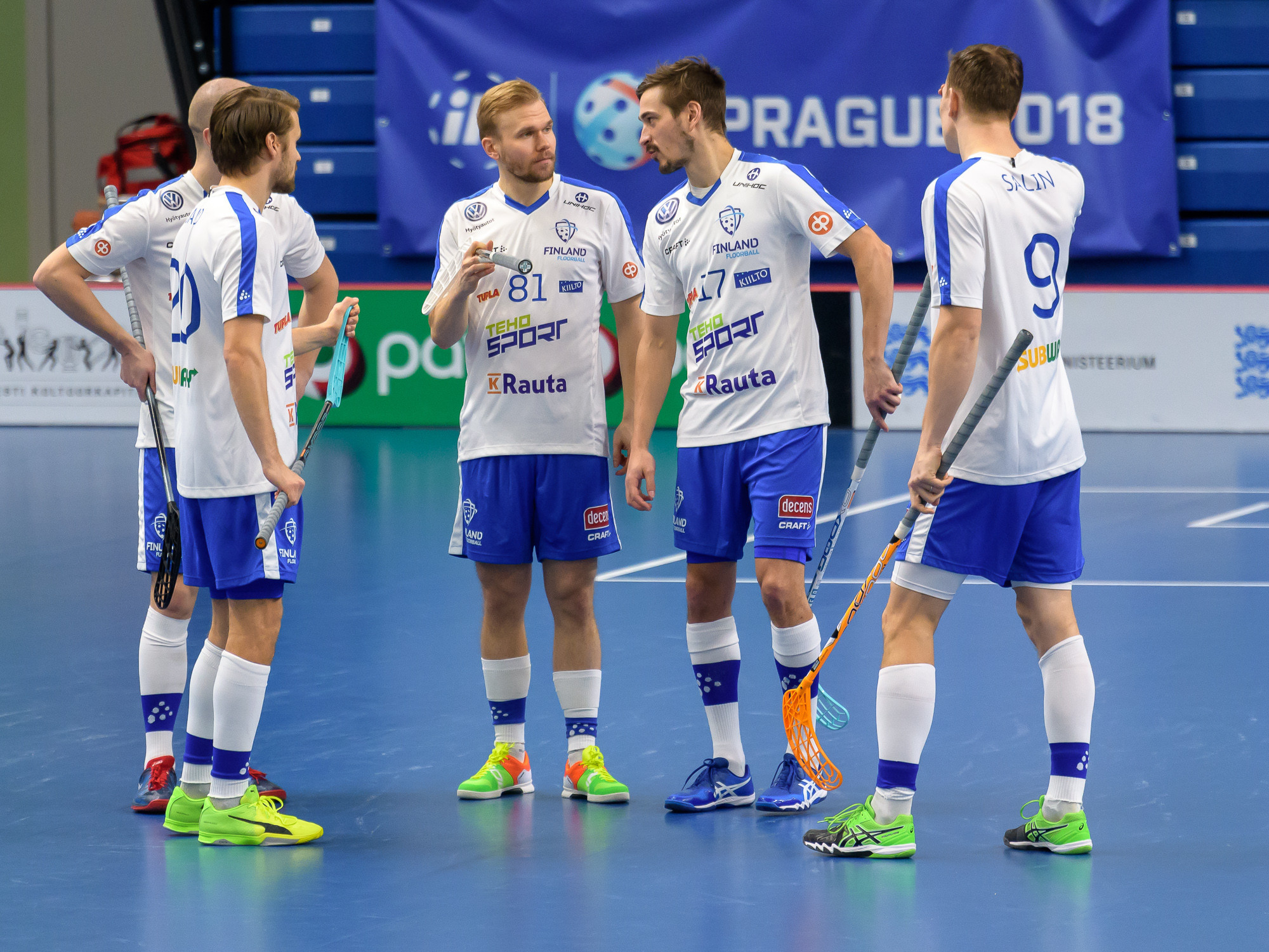 Finland continue dominance at IFF European Floorball World Championship qualifiers