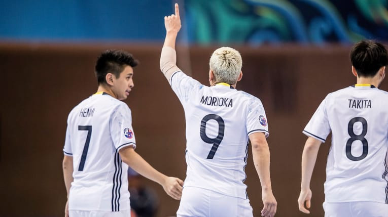 Kaoru Morioka scored four goals for Japan as they booked their place in the next round of the tournament ©AFC