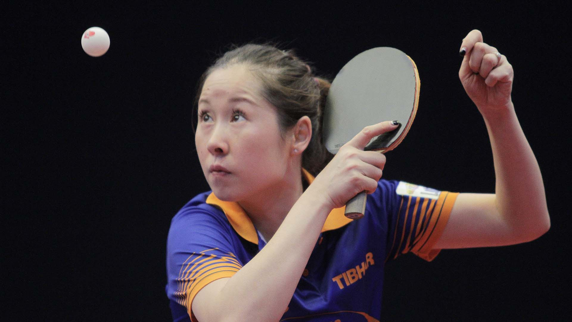 Dutchwoman Li Jie is on course to retain her women's singles crown ©ITTF/Richard Kalocsai