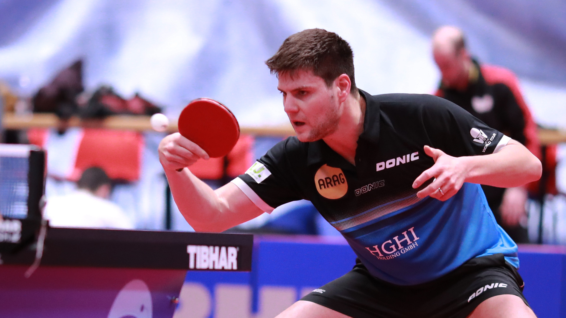 Top seed Dimitrij Ovtcharov is through to the semi-finals of the ITTF-Europe Top 16 Cup ©ITTF/Rémy Gros