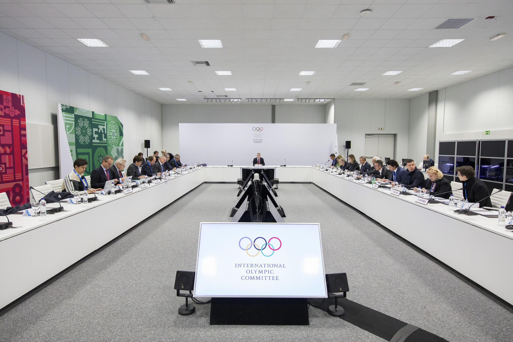 Ioc Meetings Begin As Athletes Arrive At Pyeongchang 2018 First Circuit Board Design Flickr Photo Sharing Thomas Bach Has Also Chaired A Meeting Of The Executive Today