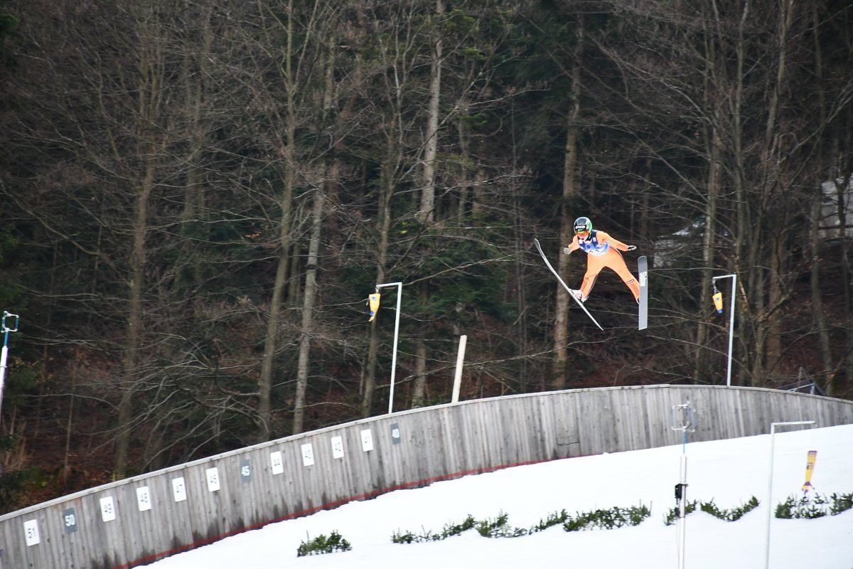 Slovenia take team ski jumping title with ease at FIS Nordic Junior World Ski Championships