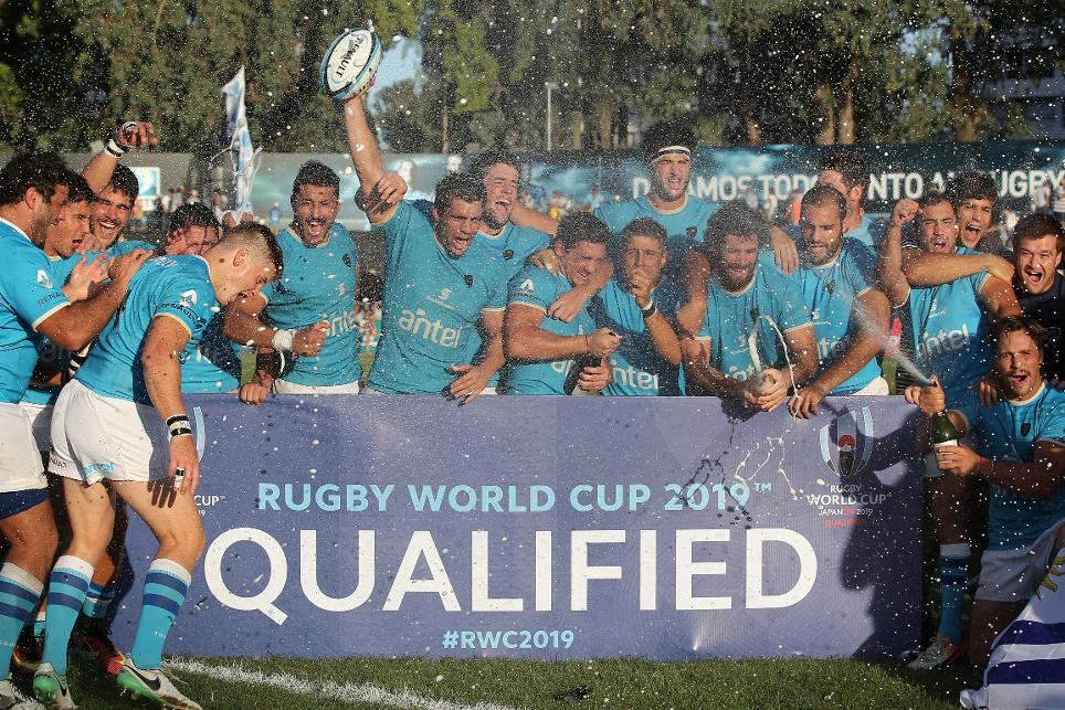 Uruguay qualify for Rugby World Cup 2019