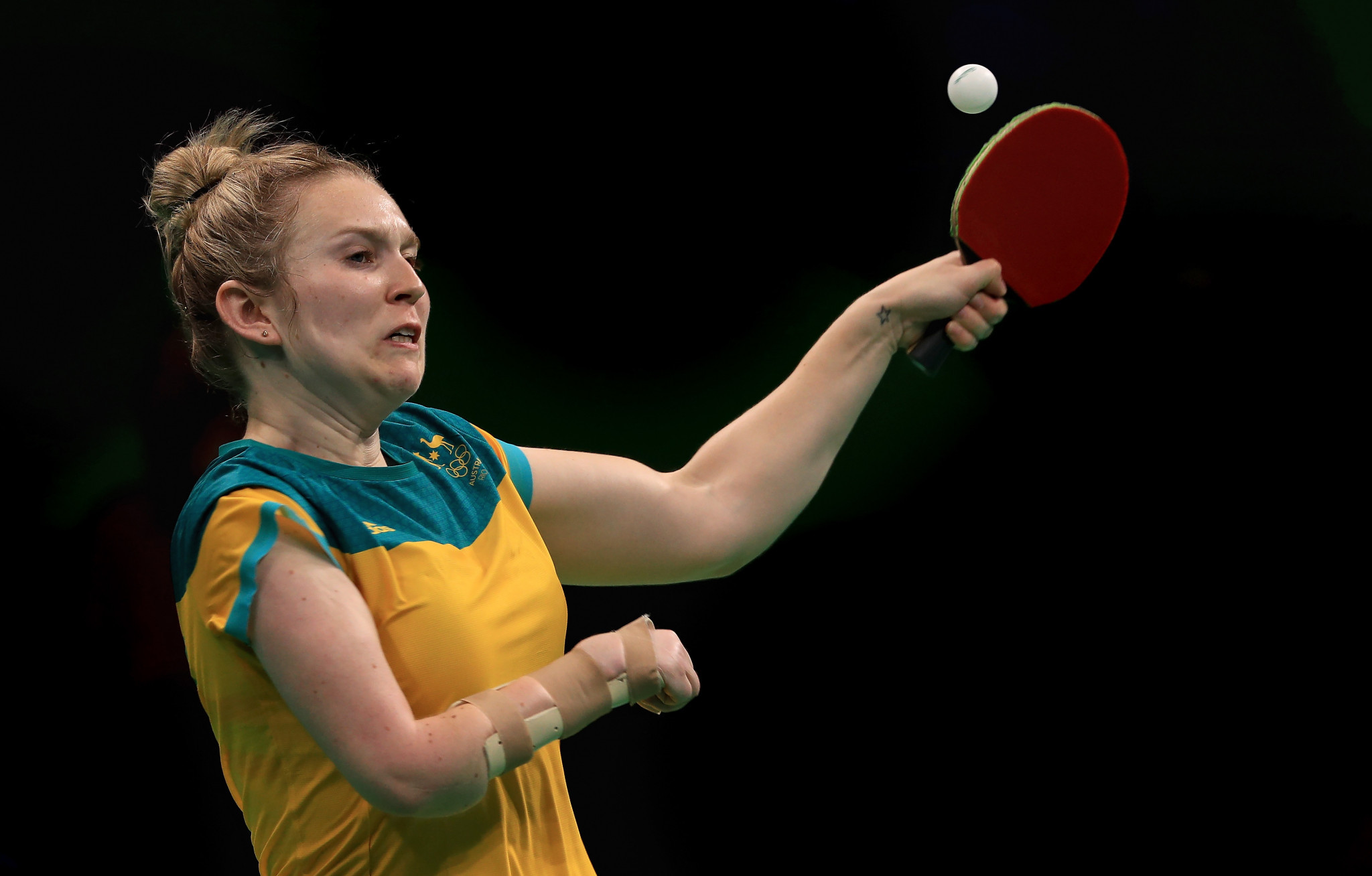 Melissa Tapper will compete in both table tennis and Para-table tennis at the Gold Coast 2018 ©Getty Images