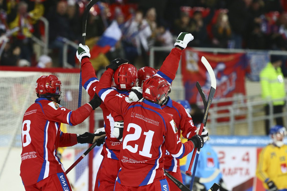 Russia claim Men's Bandy World Championship title