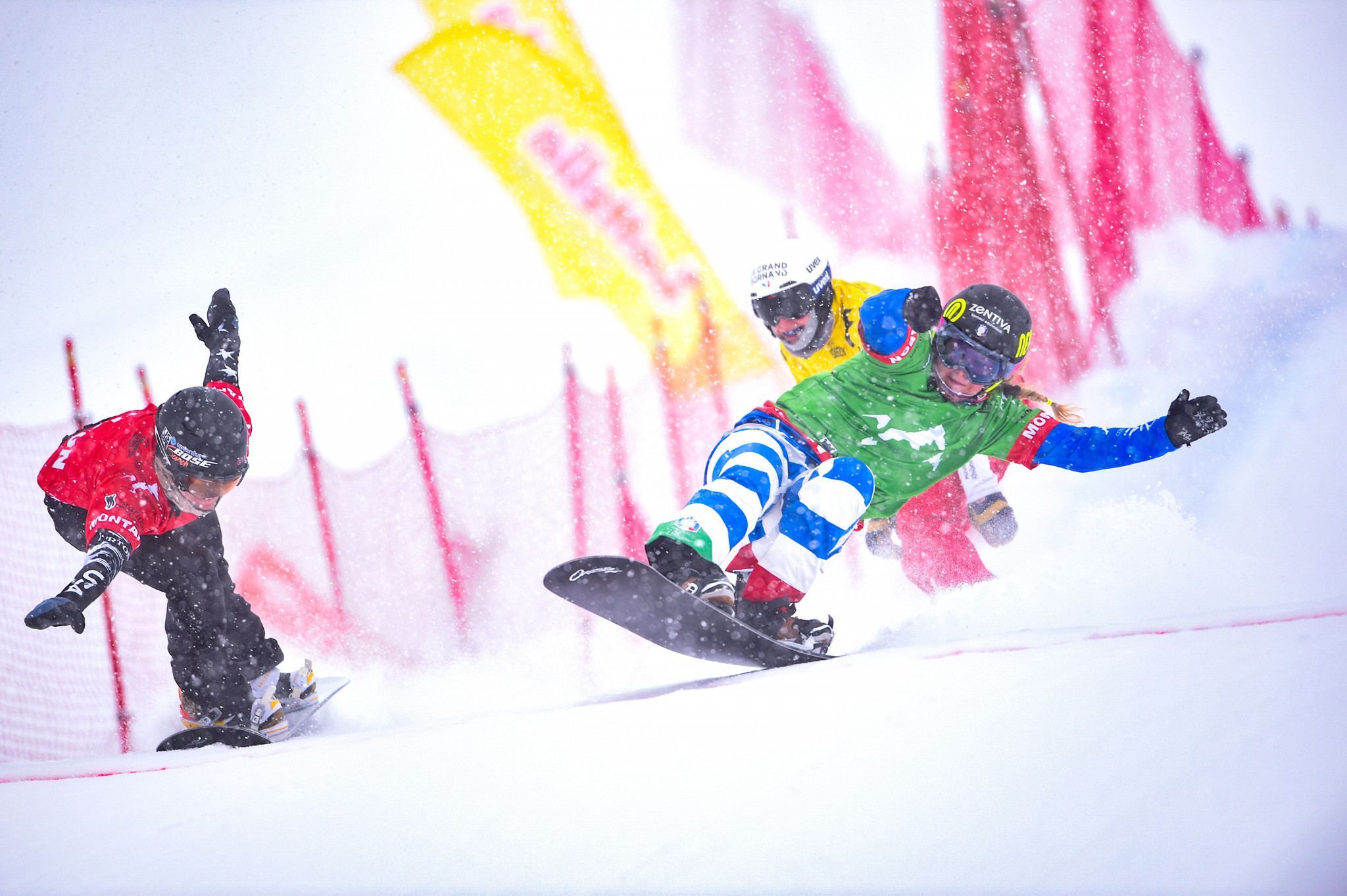 Moioli and Vaultier earn FIS Snowboard Cross World Cup wins at Feldberg ahead of Pyeongchang 2018 test
