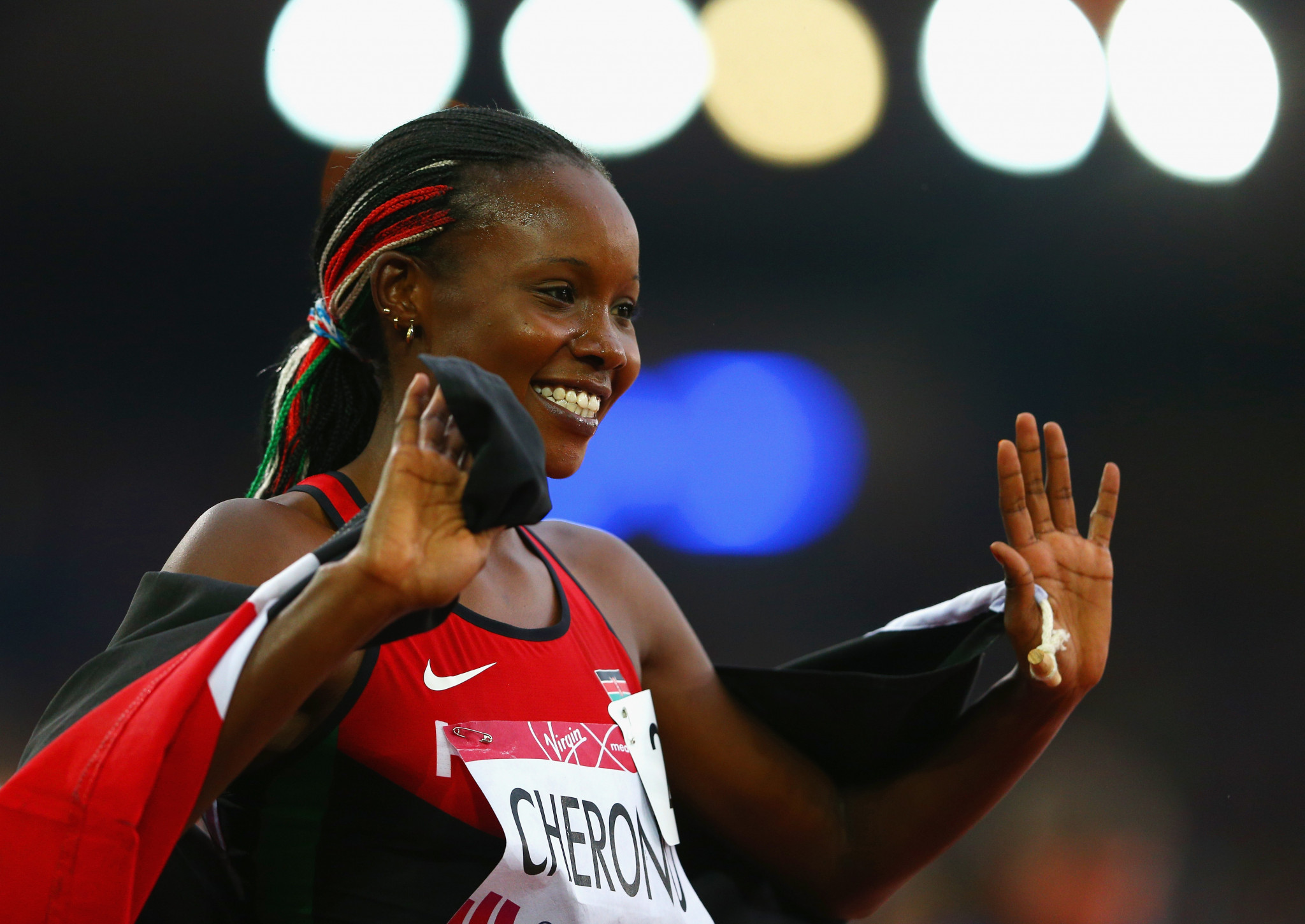 Mercy Cherono, winner of the 5,000m at Glasgow 2014, is among six defending Commonwealth Games champions from set to miss Gold Coast 2018 ©Getty Images