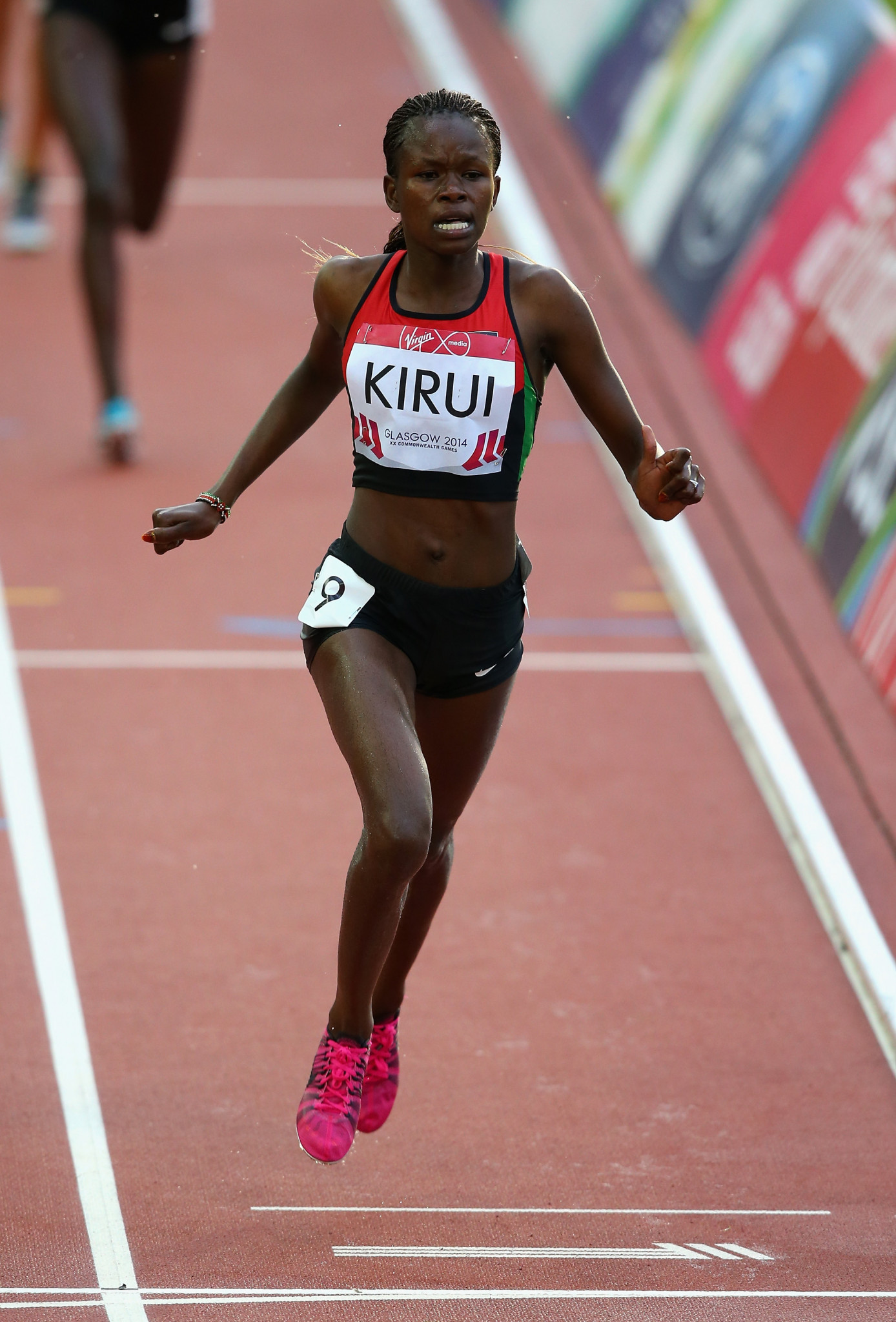 Purity Kirui, winner of the 3,000m steeplechase at Glasgow 2014, hopes to be among the champions from Kenya defending their title at Gold Coast 2018 ©Getty Images