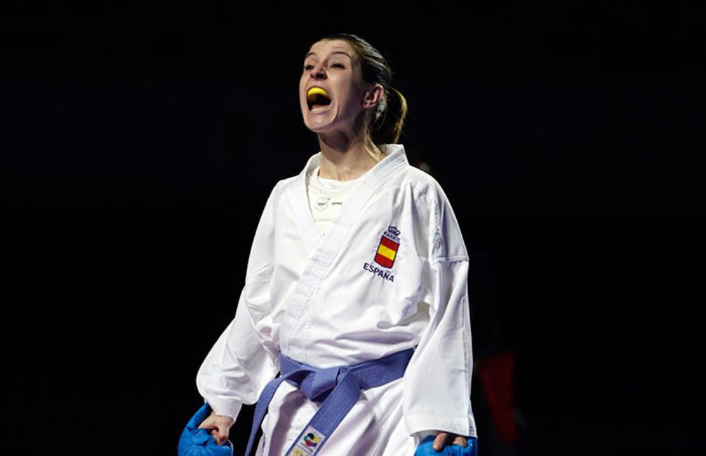 Spain's Nadia Gomez Morales added the European title to her World Championship success ©WKF