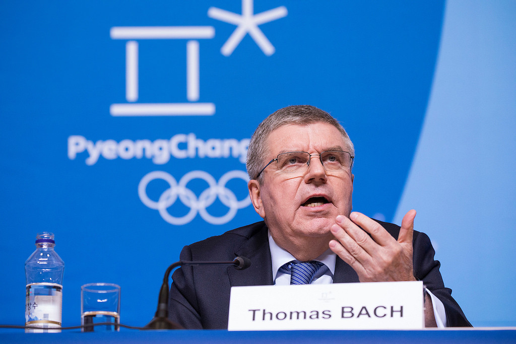 IOC President Bach named Seoul Peace Prize winner
