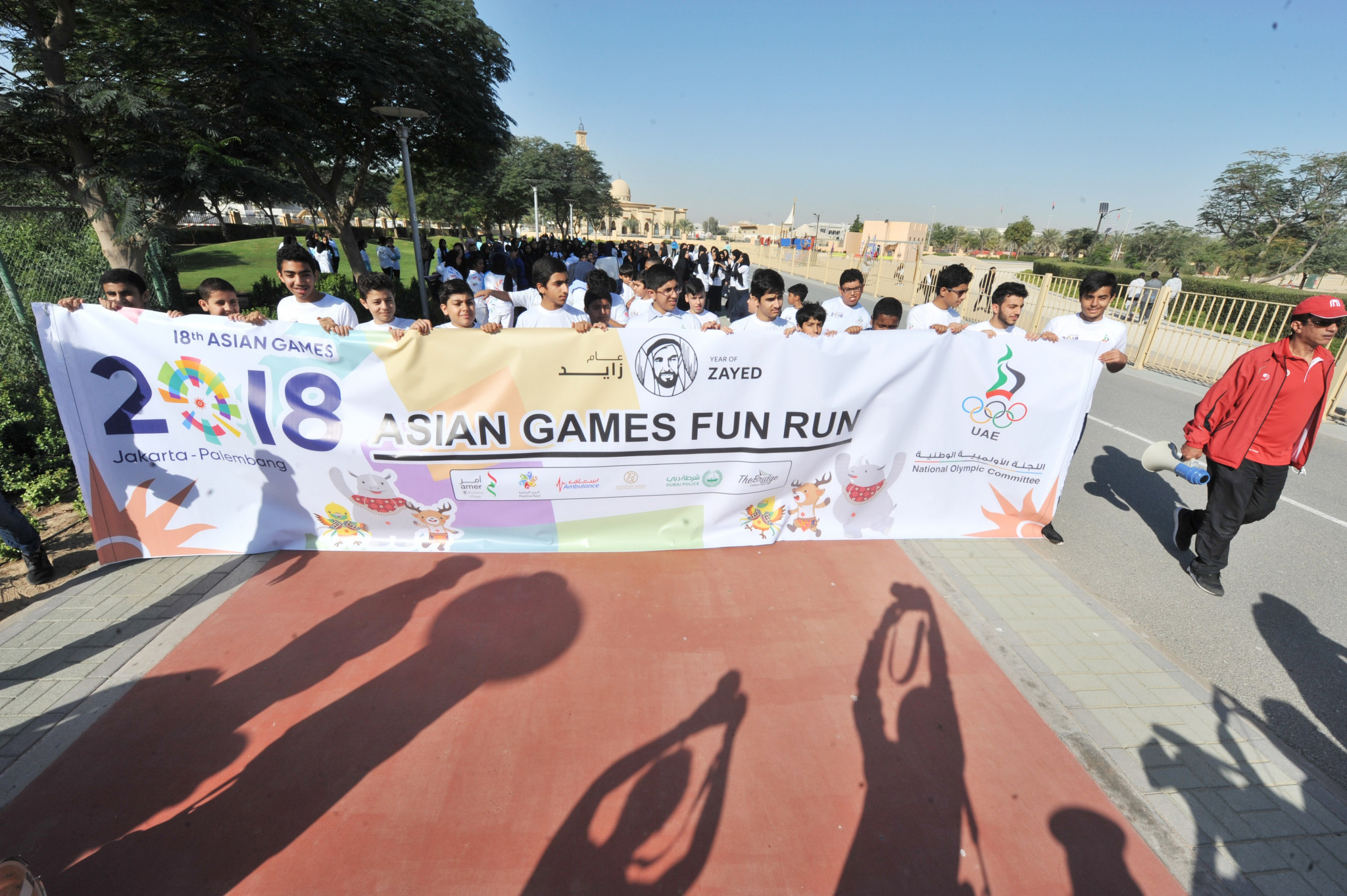 First of four promotional Asian Games runs held in Dubai