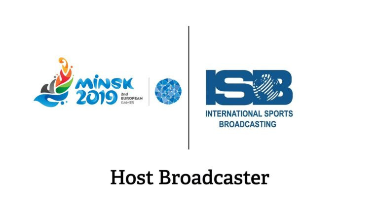 Minsk 2019 have announced International Sports Broadcasting as the host broadcaster ©Minsk 2019
