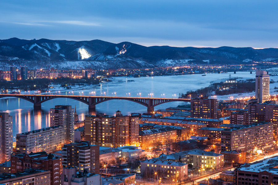 Krasnoyarsk, pictured, won the right to host the 2019 Winter Universiade in November 2013 ©Krasnoyarsk 2019