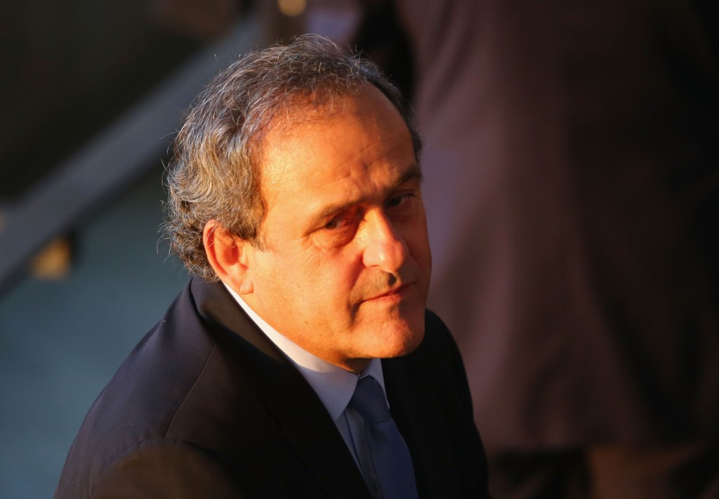FIFA Presidential candidate Michel Platini says he will step down from his current role at the head of UEFA if he is not elected as Sepp Blatter's successor