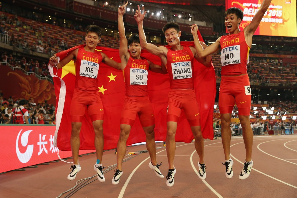 World record for Eaton as China take 4x100m silver and Bolt has last word